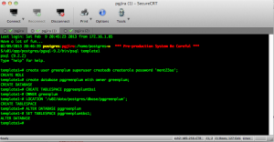 PostgreSQL_Greenplum5